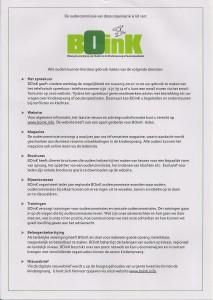 Info BOinK